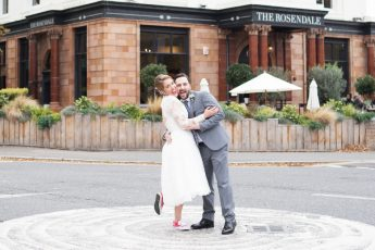 Wedding photography at the Rosendale